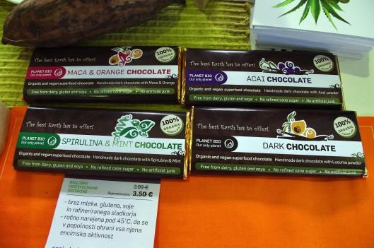 Presne čokoladice Planet Bio